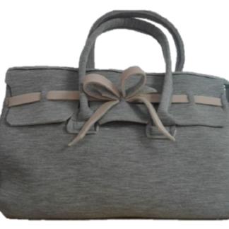d9c3b377e1 Borsa modello Fiocco color grigio/beige