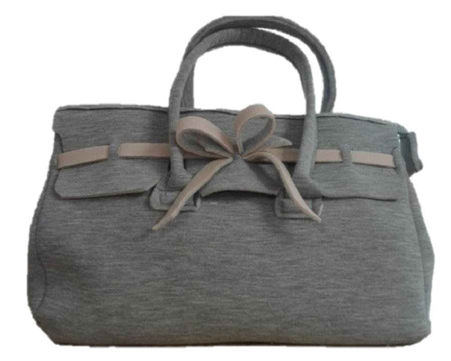 e1bd4e2b9e Borsa modello Fiocco color grigio/beige – Fior di Feltro